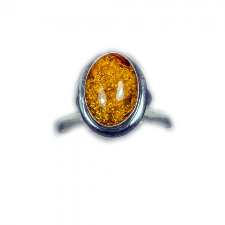 ANELLO DA DONNA in corniola  AN 118